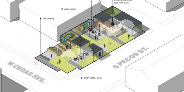 Denver's Waiting Places Designing Data Responsive and Modular Public Space