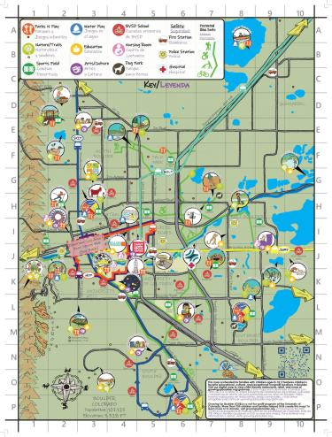 Students help create Boulder's first-ever child-friendly city map