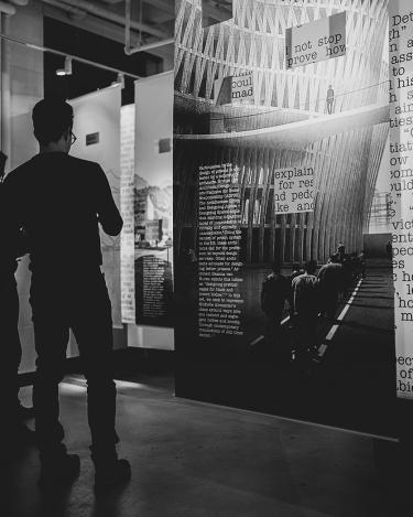 2020 racism in architecture exhibit