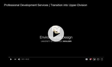 Transitioning into Upper-Division Video