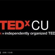 Assistant Professor Jota Samper in TEDxCU talk