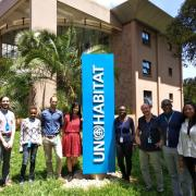 ENVD student interns with UN