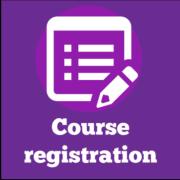 Course registration icon