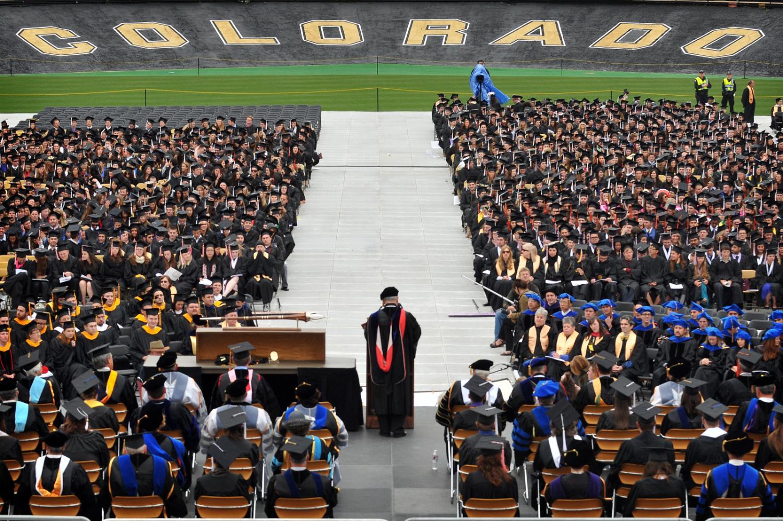 Colorado University Commencement
