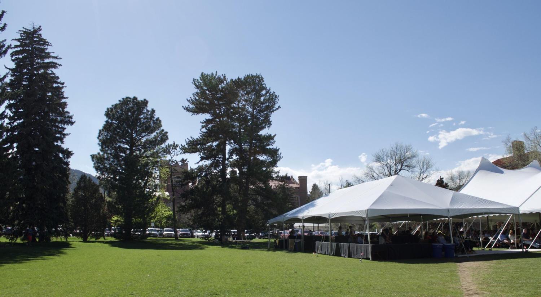ENVS Graduation Tent