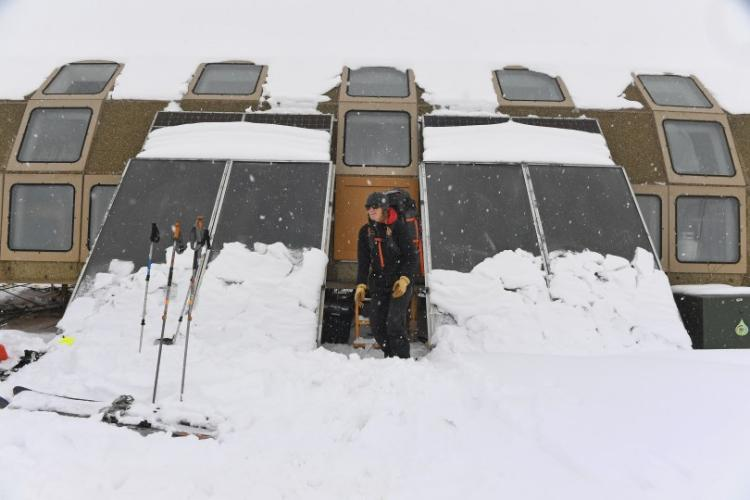 Jennifer Morse Researching in Niwot ridge