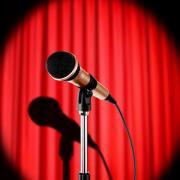comedy night microphone