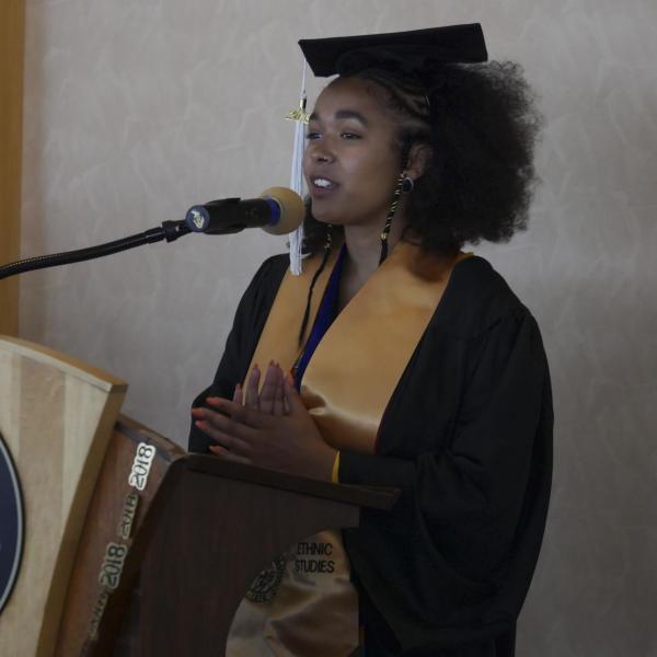 Victoria Dadet - Ethnic Studies Valedictorian