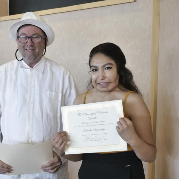 2018 Carlotta Walls Lanier Scholarship Recipient: Betsabet Samarripa