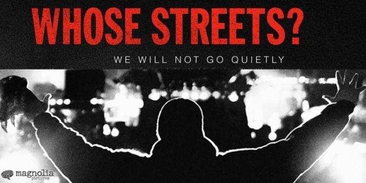 Whose Streets Flyer