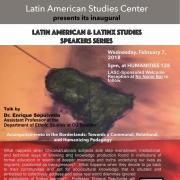 Enrique Latin American Studies Speaker Series