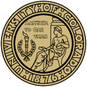 CU Boulder Crest