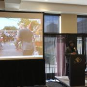 Shawn at Inclusive Sport Summit