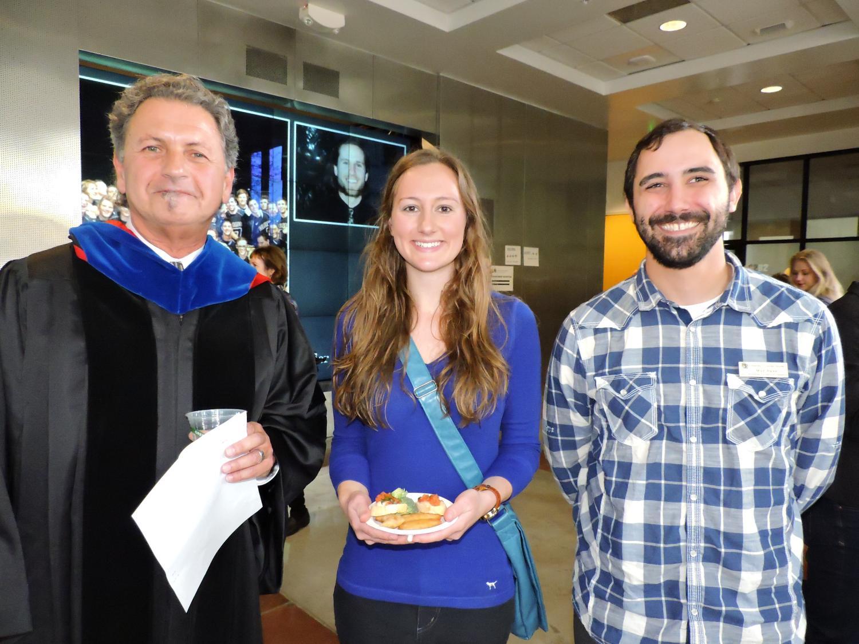 Spring 2015 graduation ceremony
