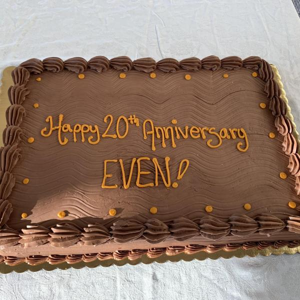 EVEN 20th Anniversary at the SEEC Café