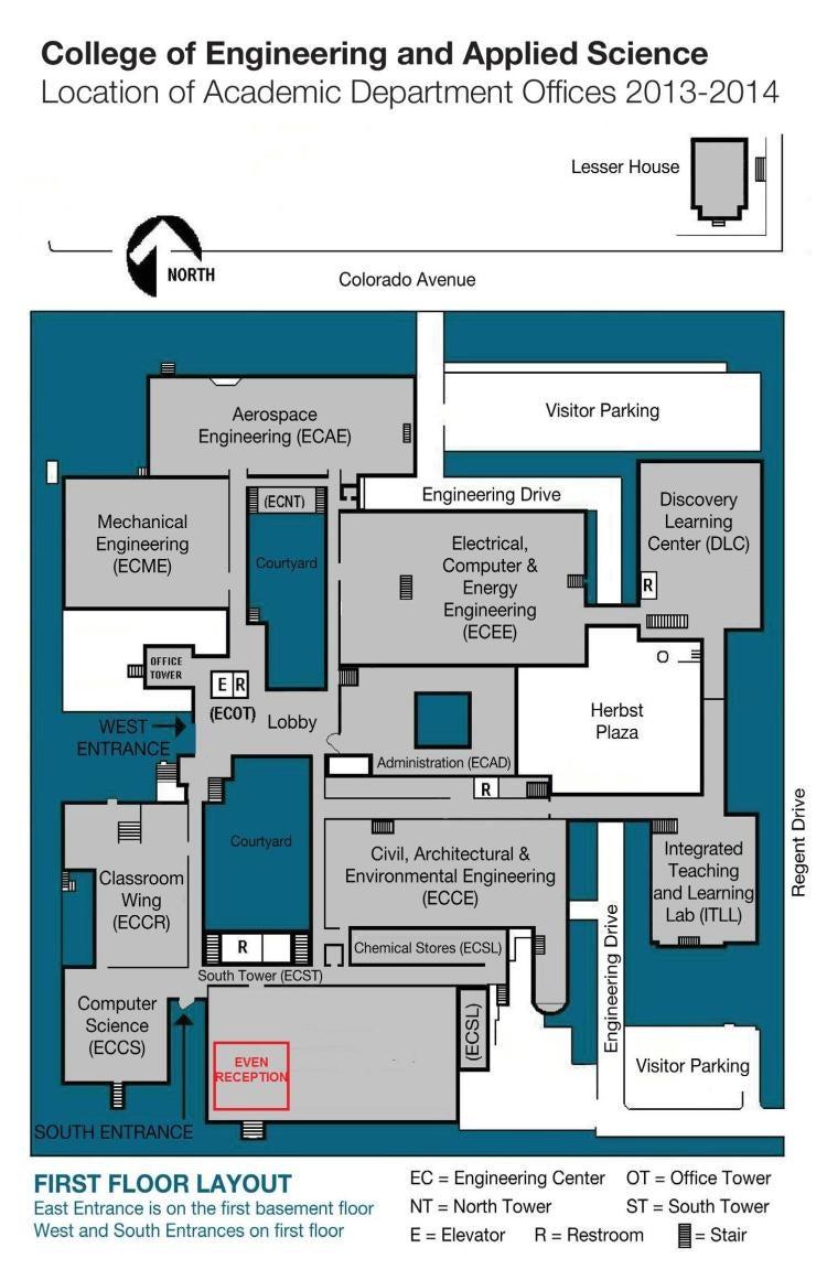 Engineering Center | Environmental Engineering Program | University ...