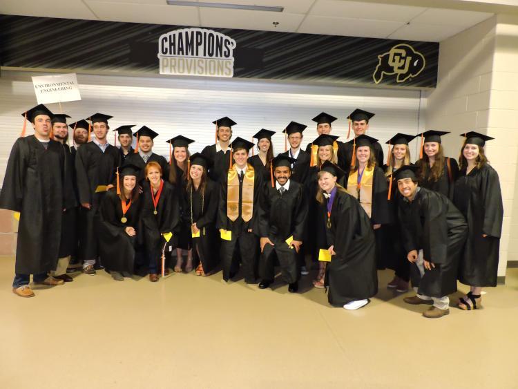 Spring 2015 graduation
