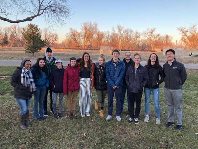 SEVEN tour of Boulder Wastewater treatment plant