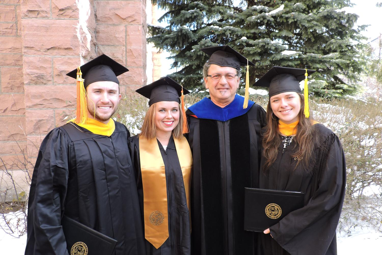 EVEN Winter Graduation 2015