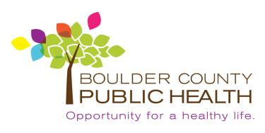 Boulder County Public Health Logo