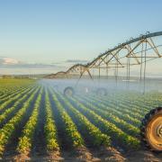Farm pivot irrigation