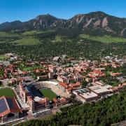 CU Boulder Arial