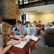 Studentsworking