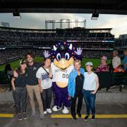 The team at Coors Field