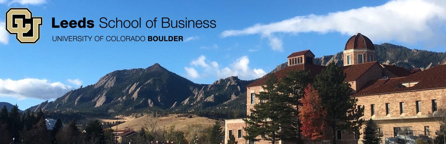Leeds School of Business 2020 Barney Ford Cover Photo