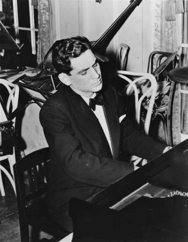 Leonard Bernstein at the Piano