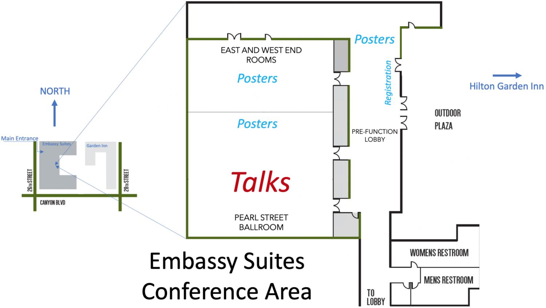 CUNY 2019 venue map