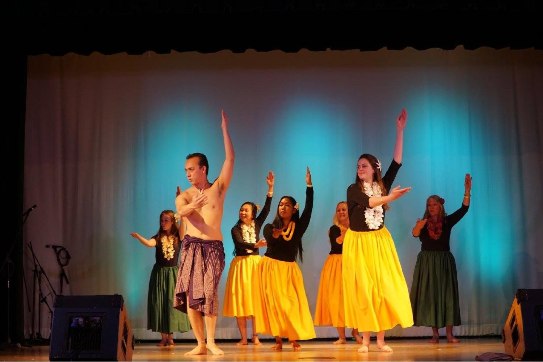 hawaiian traditional dance performance