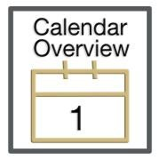 Step One - Calendar Overview
