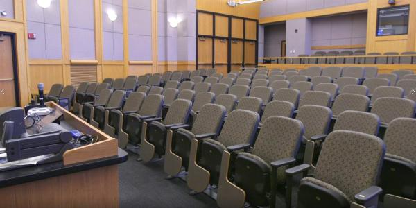 Benson lecture hall