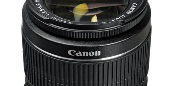 Canon EF-S 18-55mm f/3.5-5.6 IS II Lens