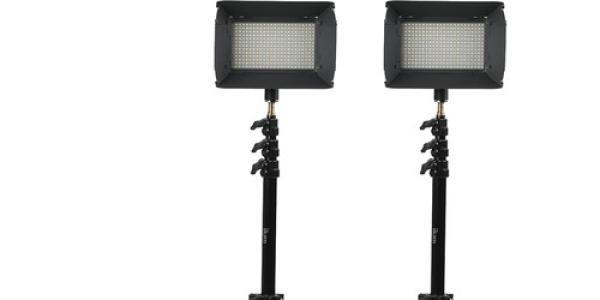 iKan iLED312-v2 2-Point Light Kit