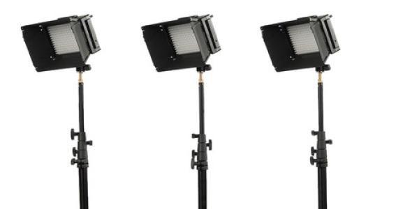 iKan iLED312-v2 3-Point Light Kit