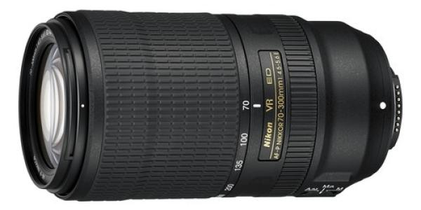 Nikon AF-P NIKKOR 70-300mm f/4.5-5.6E ED VR Lens