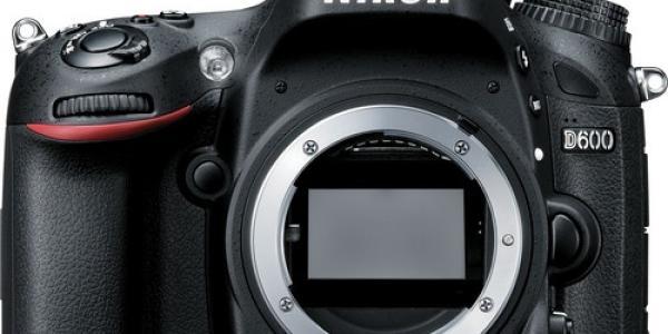 Nikon D600 DSLR Camera
