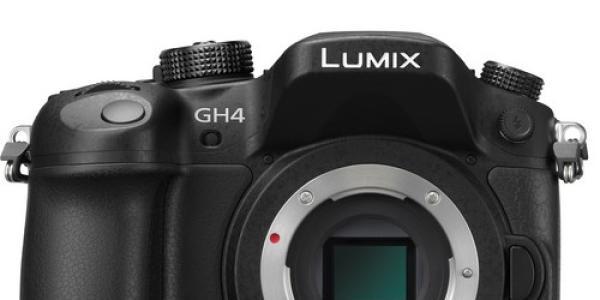 Panasonic Lumix DMC-GH4 Mirrorless Micro Four Thirds Digital Camera