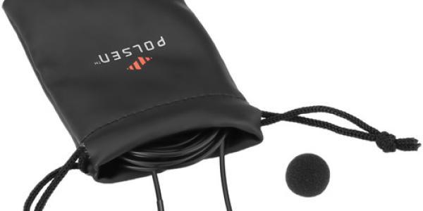 Polsen Wired Lav Mic W/Battery