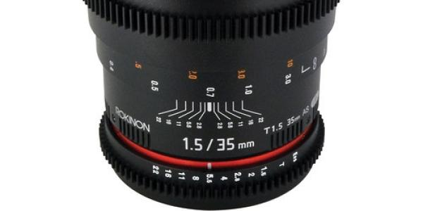Rokinon 35mm T1.5 Cine AS UMC Lens