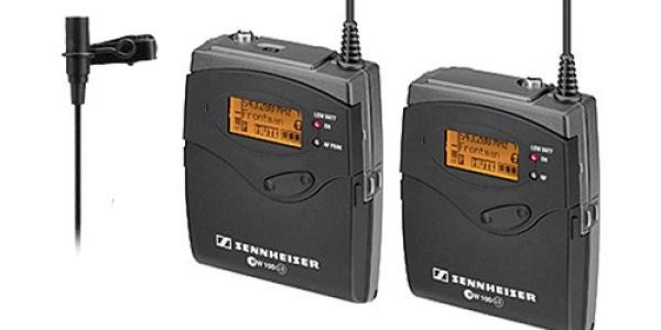 Sennheiser EW 112-P G3 Camera-Mount Wireless Microphone System with ME 2 Lavalier Mic