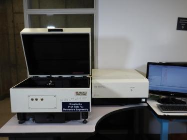 UV-VIS-NIR spectrophotometer