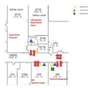 FAB floor map
