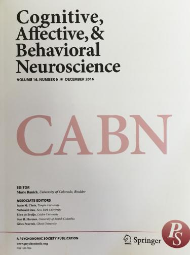 Cognitive, Affective, and Behavioral Neuroscience (CABN)