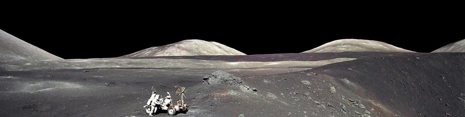Photo from Apollo 17 on the Moon