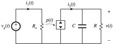 Loss-Free Resistor power conservative network. The LFR is comprised of an effective resistor and a dependent power source.