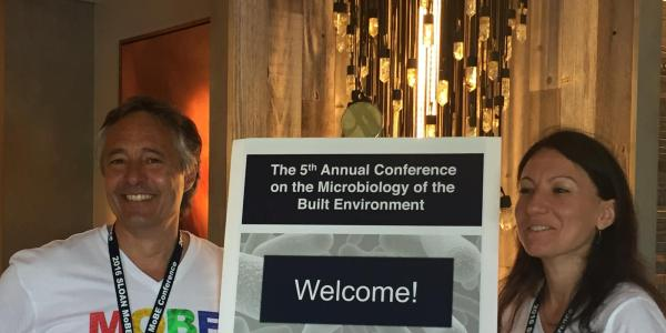 Microbiology of the built environment conference.