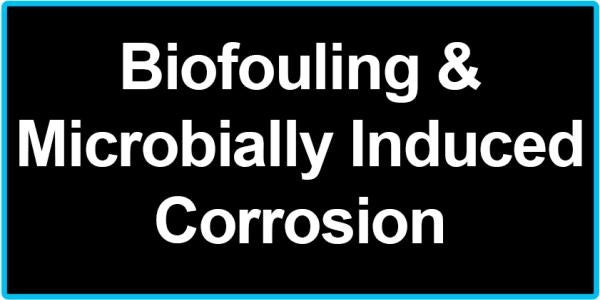 Biofouling & Microbially Induced Corrosion